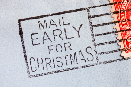Mail Early for Christmas
